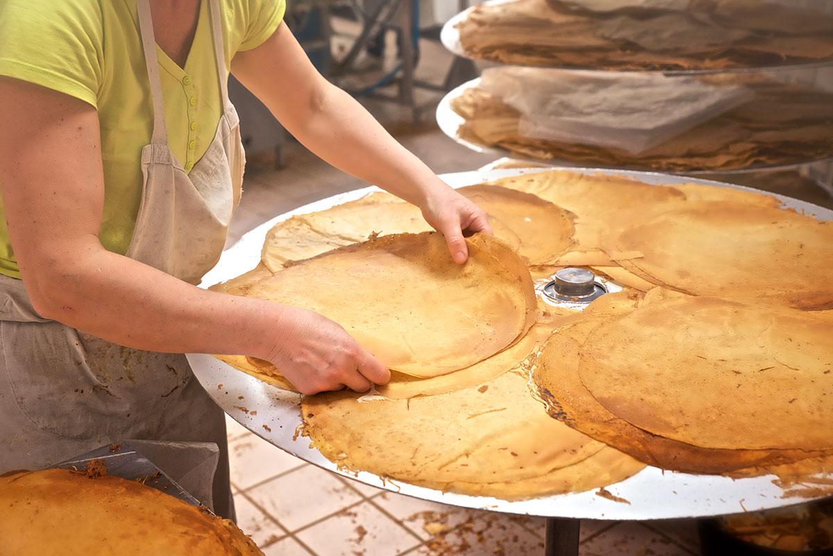 Crêpes artisanales vente en ligne